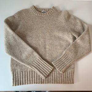 Vintage 100% wool Woolrich fisherman's sweater